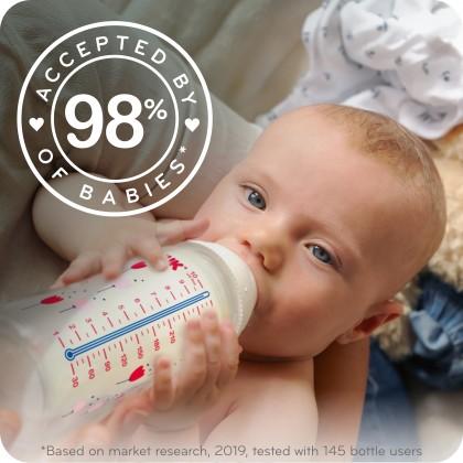 NUK Smooth Flow Anti-Colic Baby Bottle 10 oz (300 mL)
