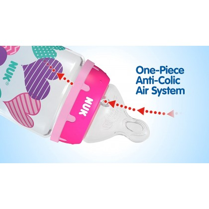 NUK Perfect Fit Silicone Replacement Teat (2 Pack)